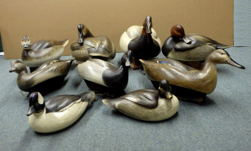 Group Photo of Schmiedlin Decoys