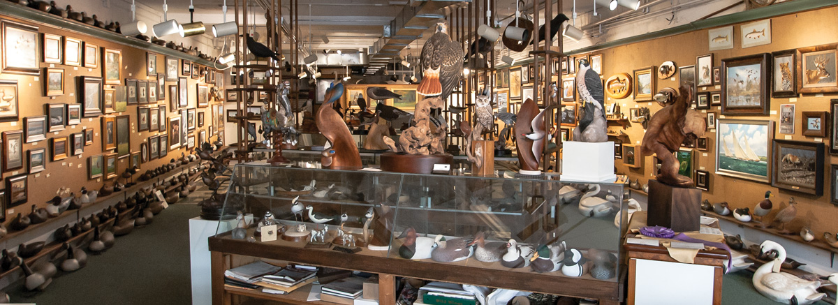Interior shot - photo of the Decoys & Wildlife Galley - Frenchtown, NJ
